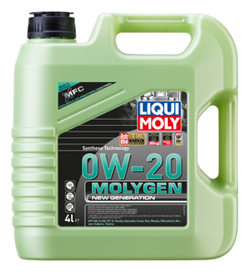 НС-синтетическое моторное масло Molygen New Generation 0W-20