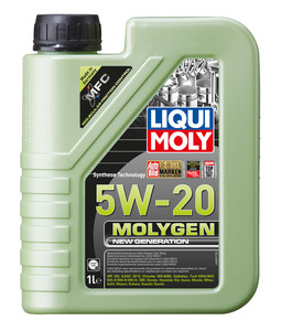 НС-синтетическое моторное масло Molygen New Generation 5W-20