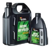 Зелёный антифриз Bizol Pacific Antifreeze